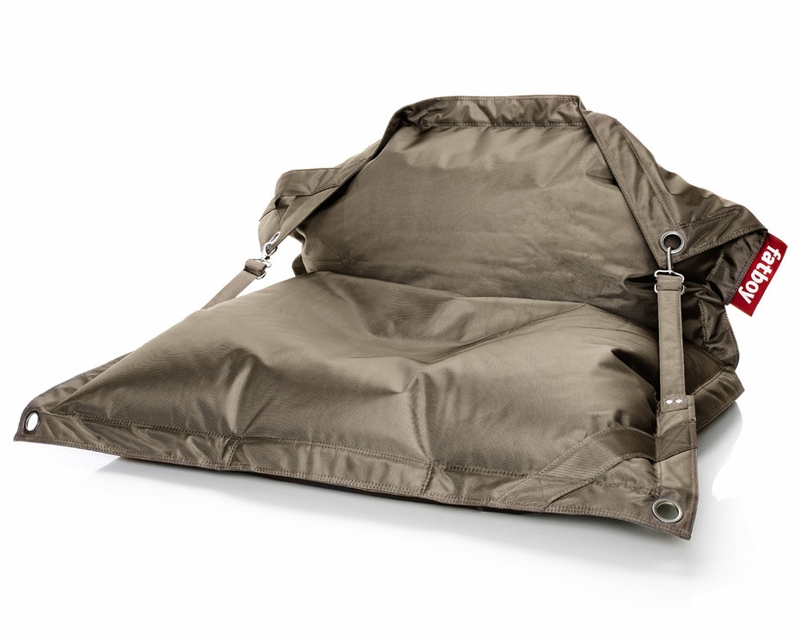 District17 fatboy buggle up taupe outdoor beanbag beanbags - Fatboy taupe ...
