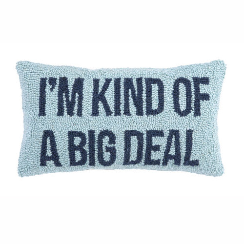Throw Pillow Deals : District17: I m Kind of a Big Deal Hook Pillow: Pillows