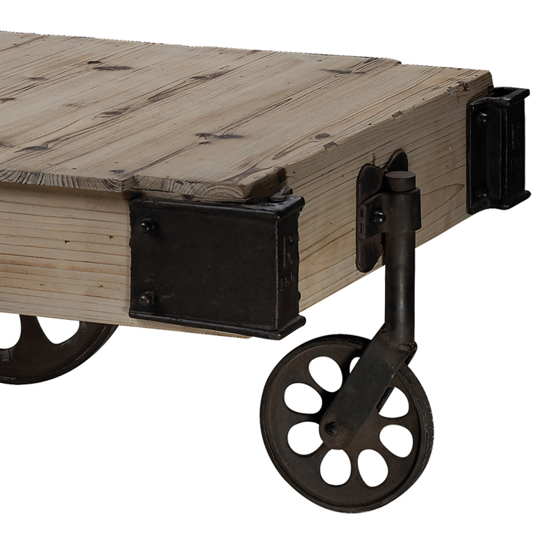 District17 Industrial Cart Coffee Table Tables