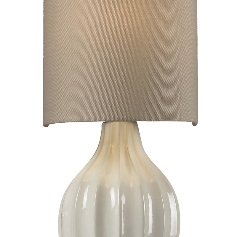 District17: Lilliana Sconce In Cream And Aged Bronze: Wall Sconces