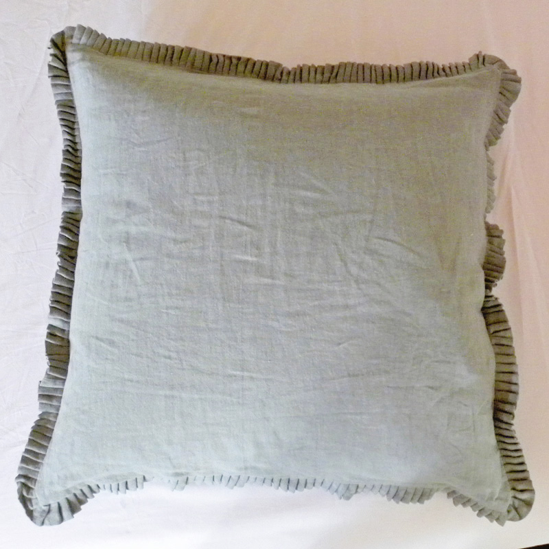 Pillow shams colors match all solid items bed mattress sale for Euro shams ikea