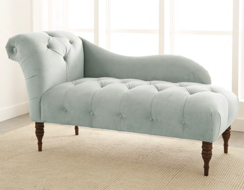 Image Gallery Tufted Chaise