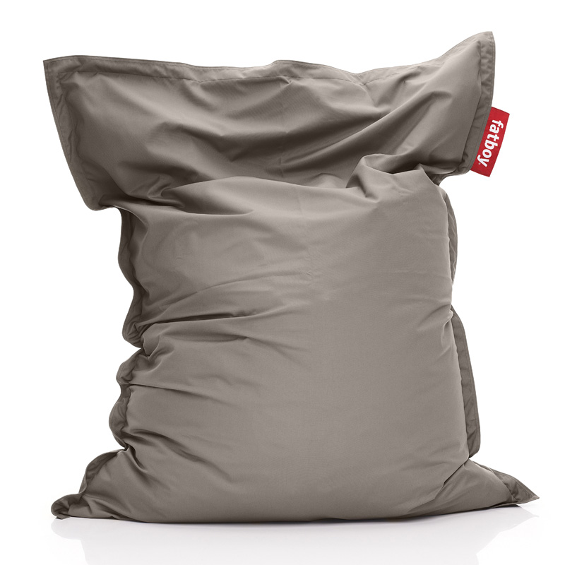 District17 fatboy original outdoor taupe beanbag beanbags - Fatboy taupe ...