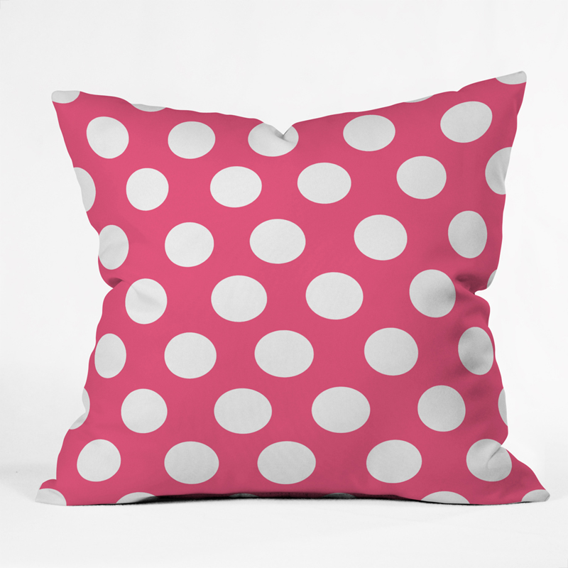 Pink Throw Pillows For Couch : District17: Pinkest Pink Throw Pillow: Pillows