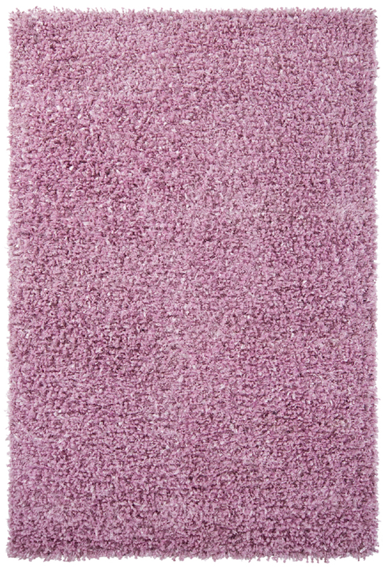 District17 Riza Shag Rug In Pink