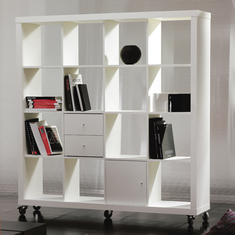 Rolly Mobile Bookcase 4 X