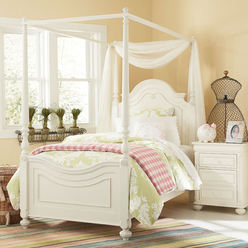 District17 sophie high poster canopy bed beds - Poster bed canopy ideas ...