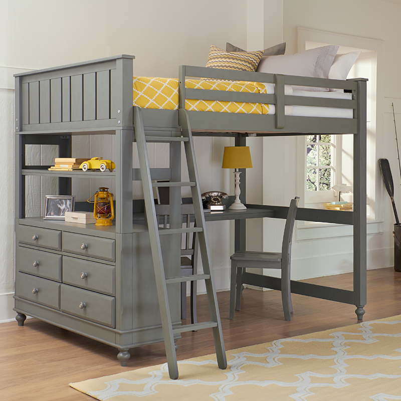 District17 Stone Lake House Lake House Loft Bed Beds
