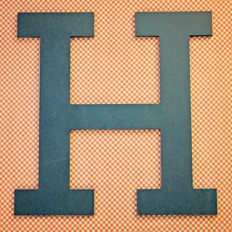 Wall Decor Block Letters : District wood block wall letter letters