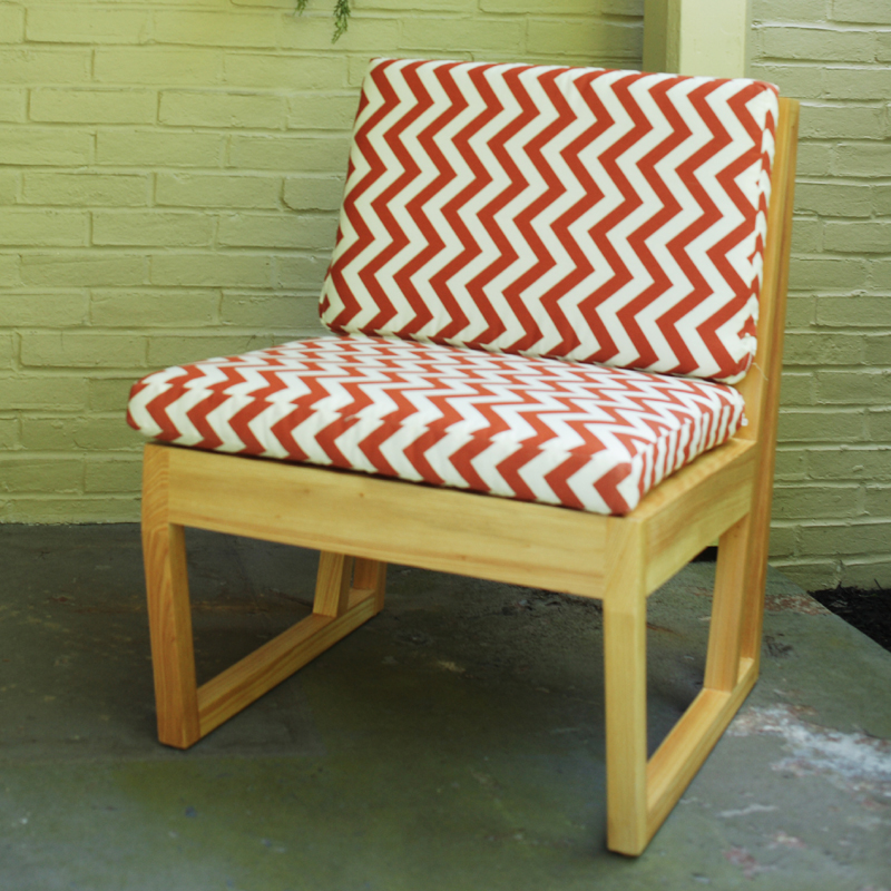 District17 Zig Zag Canyon Cypress Chair Outdoor