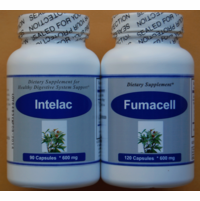 Colitis Support kit (1 Intelac+ 1 Fumacell)