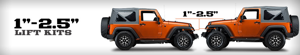 jeep wrangler 1 2 5 inch lift kits free shipping. Black Bedroom Furniture Sets. Home Design Ideas