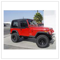 jeep yj tops and accessories 1987 1995 wrangler free shipping. Black Bedroom Furniture Sets. Home Design Ideas