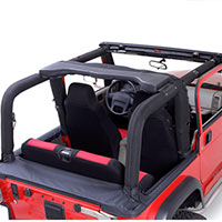 Jeep yj exterior 1987 1995 wrangler free shipping - Jeep cherokee exterior roll cage ...