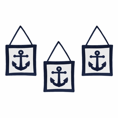Anchors Away Collection Wall Hangings