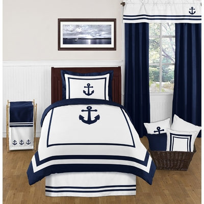 Anchors Away Twin Bedding Collection