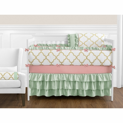 Ava Crib Bedding Collection