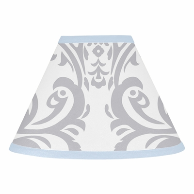 Avery Blue and Gray Collection Lamp Shade