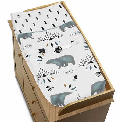 Bear Mountain Collection Changing Pad Cover