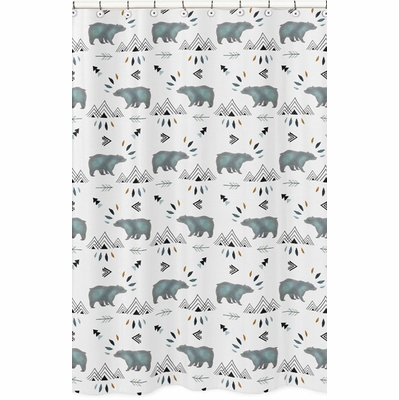 Bear Mountain Collection Shower Curtain