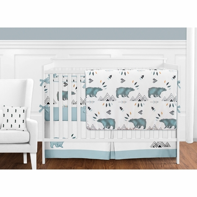 Bear Mountain Crib Bedding Collection