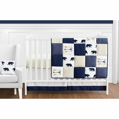 Big Bear 11 Piece Bumperless Crib Bedding Collection
