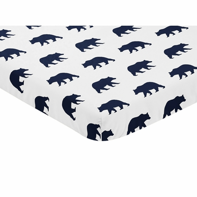 Big Bear Collection Mini Crib Sheet