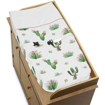 Cactus Floral Collection Changing Pad Cover