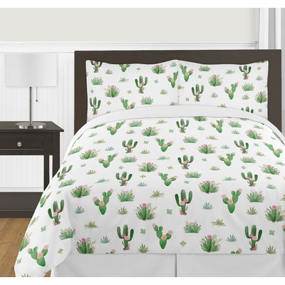 Cactus Floral Collection Full/Queen Bedding