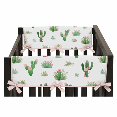 Cactus Floral Collection Side Rail Guard Covers - Set of 2