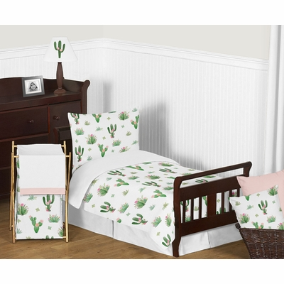 Cactus Floral Collection Toddler Bedding