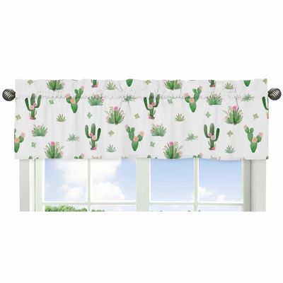 Cactus Floral Collection Window Valance