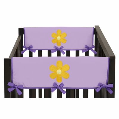 Daisies Collection Side Rail Guard Covers - Set of 2