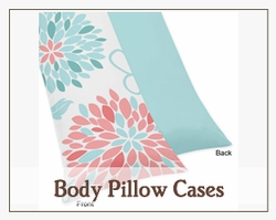 Decorative Body Pillow Cases