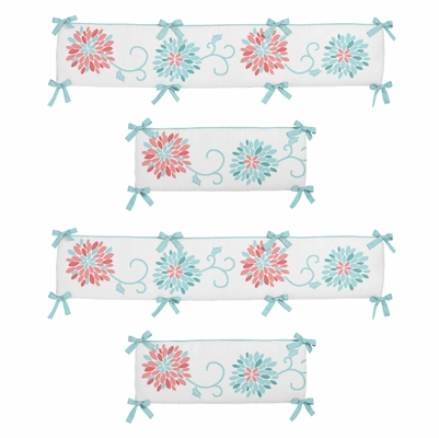 Emma Collection Crib Bumper Pad