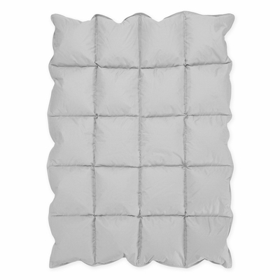 Grey Baby Down Alternative Comforter / Blanket