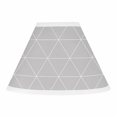 Mountains Grey and Aqua Collection Lamp Shade
