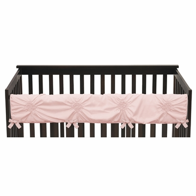 Harper Blush Pink Collection Long Rail Guard Cover