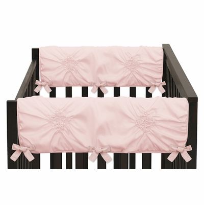 Harper Blush Pink Collection Side Rail Guard Covers - Set of 2