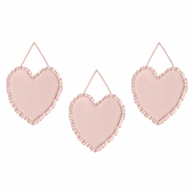 Harper Blush Pink Collection Wall Hangings