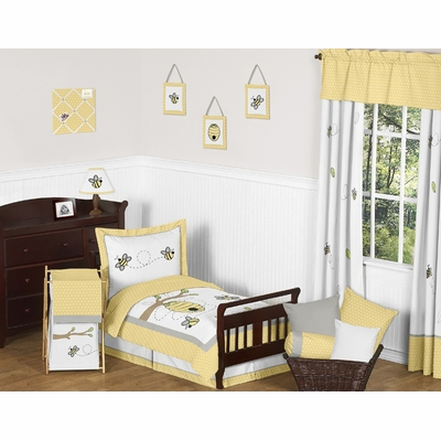 Honey Bee Toddler Bedding Collection