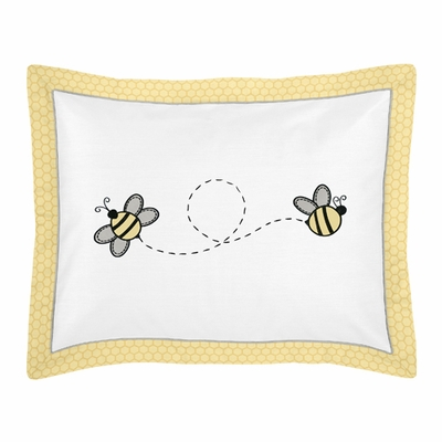 Honey Bee Collection Pillow Sham