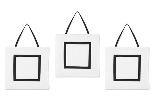 Hotel White And Black Wall Hangings