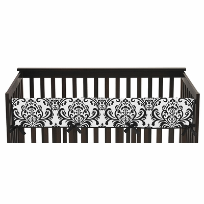 Isabella Hot Pink, Black and White Collection Long Rail Guard Cover