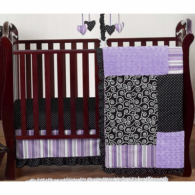 Kaylee 11 Piece Bumperless Crib Bedding Collection