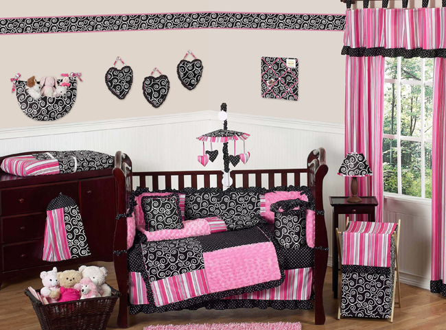Madison Crib Bedding Collection Enlarge