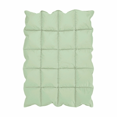 Mint Green Blue Baby Down Alternative Comforter / Blanket
