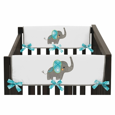 Mod Elephant Collection Side Rail Guard Covers - Set of 2