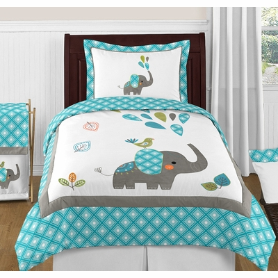 Mod Elephant Twin Bedding Collection