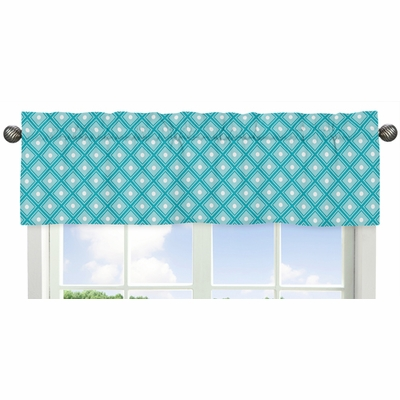 Mod Elephant Collection Window Valance